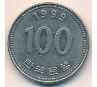 100 вон 1999 год Южная Корея