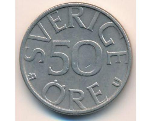 50 эре 1980 год Швеция
