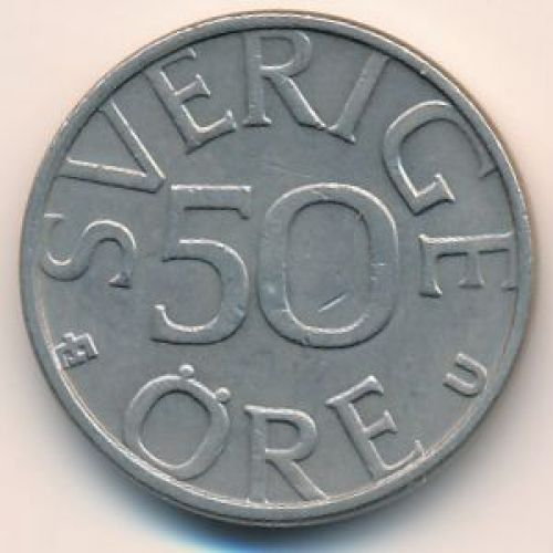50 эре 1979 год. Швеция