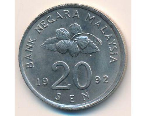 20 сен 1992 год Малайзия