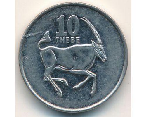 10 тхебе 2002 год Ботсвана Орикс