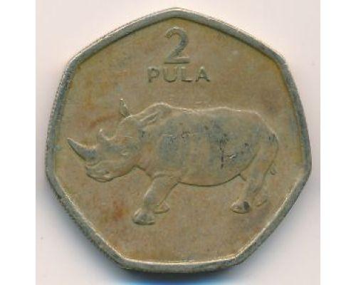 2 пула 1994 год Ботсвана Носорог