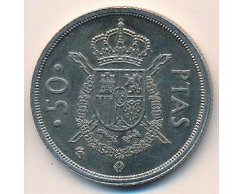 50 песет 1983 год Испания