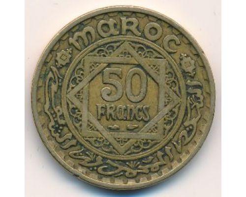 50 франков 1951 год Марокко - 1371