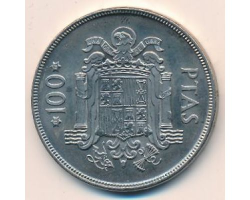 100 песет 1975 год Испания