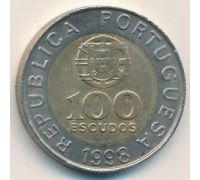 100 эскудо 1998 год Португалия Педро Нуниш