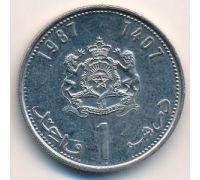 1 дирхам 1987 год Марокко