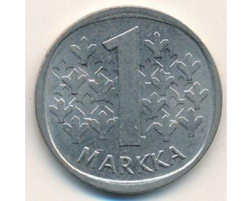 1 марка 1983 год Финляндия