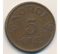 5 эре 1955 год Норвегия