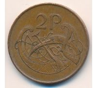 2 пенса 1986 год Ирландия