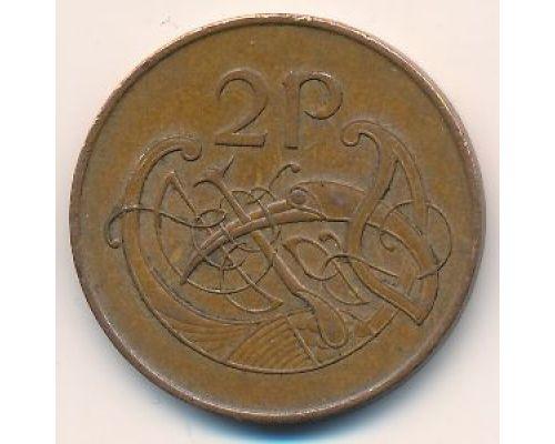 2 пенса 1988 год Ирландия