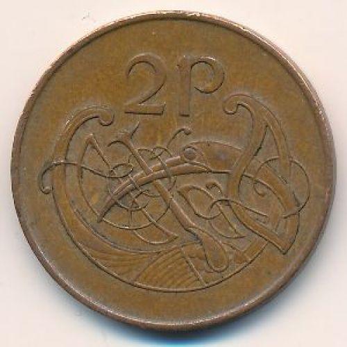 2 пенса 1979 год. Ирландия
