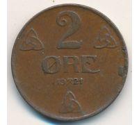 2 эре 1921 год Норвегия