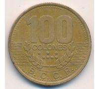 100 колон 1995 год Коста-Рика