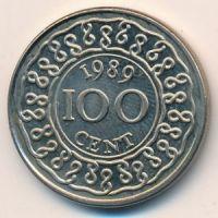 100 центов 1989 года Суринам