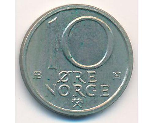 10 эре 1974 год. Норвегия