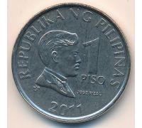 1 писо 2011 год Филиппины - песо