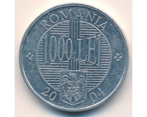 1000 лей 2004 год Румыния Брынковяну