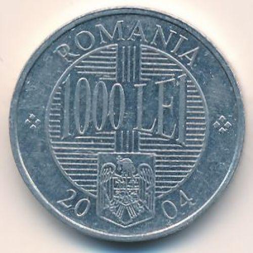 1000 лей 2004 год. Румыния. Брынковяну