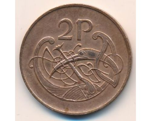 2 пенса 1996 год Ирландия