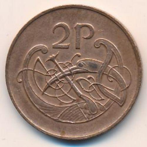 2 пенса 1995 год. Ирландия