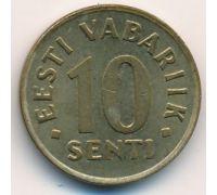 10 сентов 1998 год Эстония