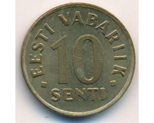 10 сентов 2006 год Эстония