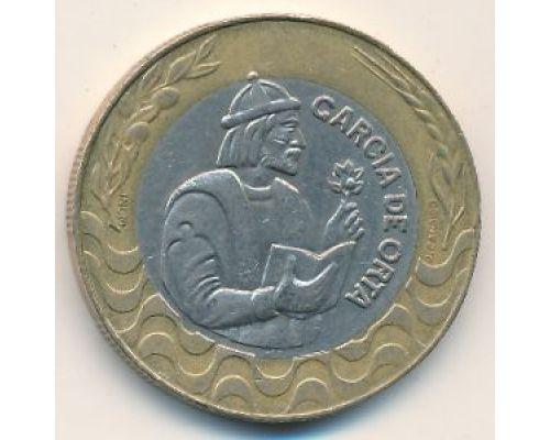 200 эскудо 1991 год Португалия Гарсия Де Орта