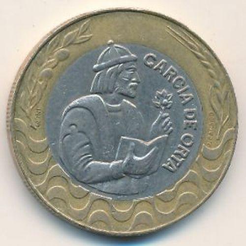 200 эскудо 1991 год. Португалия. Гарсия Де Орта