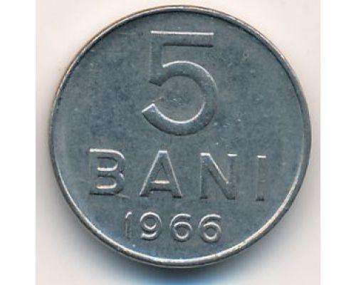 5 бани 1966 год Румыния