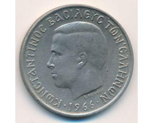 2 драхмы 1966 год Греция