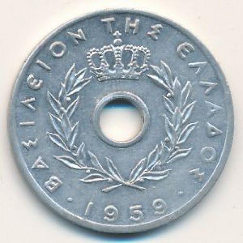 20 лепт 1959 год. Греция