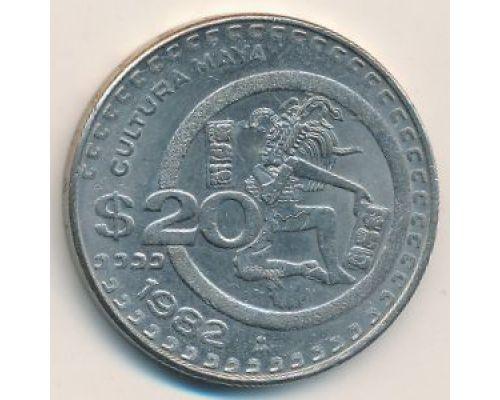 20 песо 1982 год Мексика
