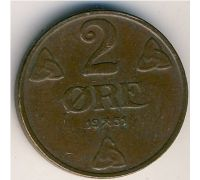 2 эре 1951 год. Норвегия