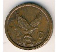 2 цента 1996 год ЮАР