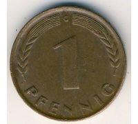 1 пфенниг 1949 год Германия ФРГ