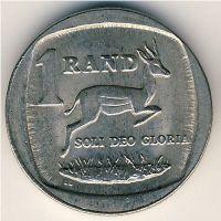 1 рэнд (ранд) 1995 год ЮАР. Антилопа