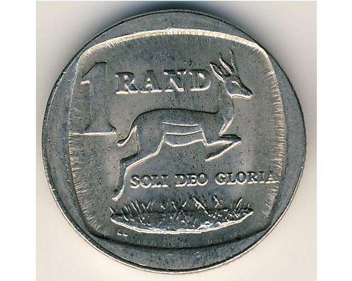 1 рэнд (ранд) 1991 год ЮАР. Антилопа