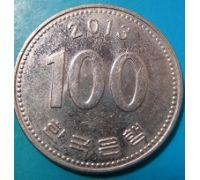 100 вон 2013 год Южная Корея