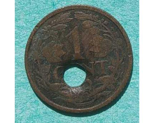 1 цент 1919 год  Нидерланды