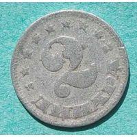 2 динара 1953 год Югославия
