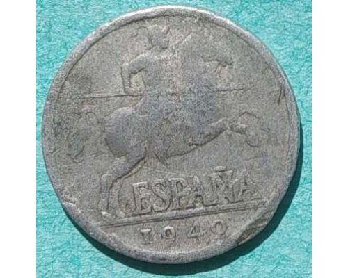 5 сентимо 1940 год Испания