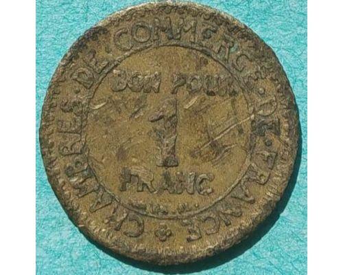 1 франк 1922 год Франция (2)