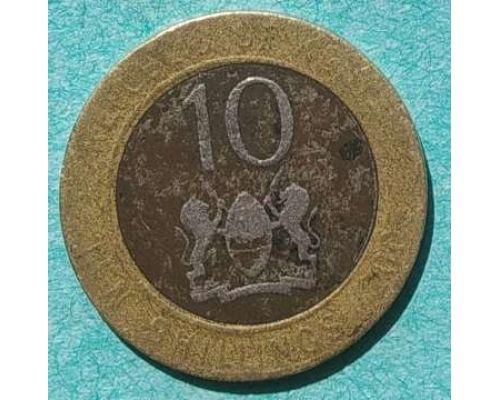 10 шиллингов 2005 год Кения Джомо Кениата