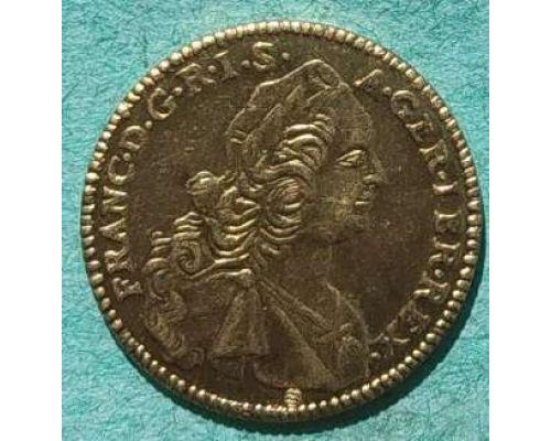 Жетон копия монеты Tu Domine Spes Mea 1752