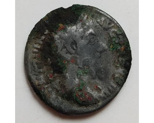 Денарий лимесный Марк Аврелий Древний Рим (161 - 180 г. н.е.)