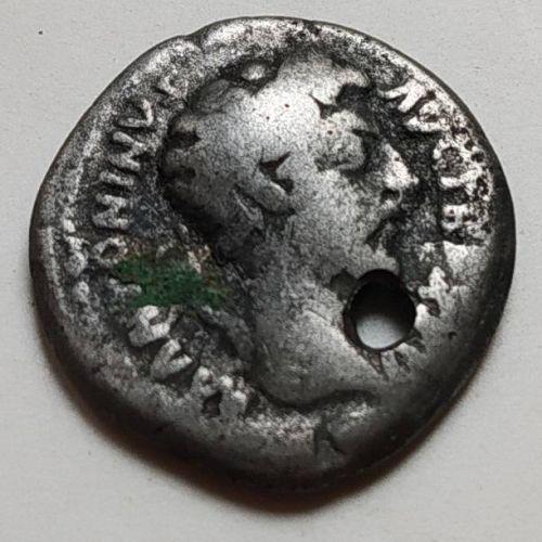 Денарий лимесный Антонин Пий Древний Рим (138 - 61 г. н.е.)