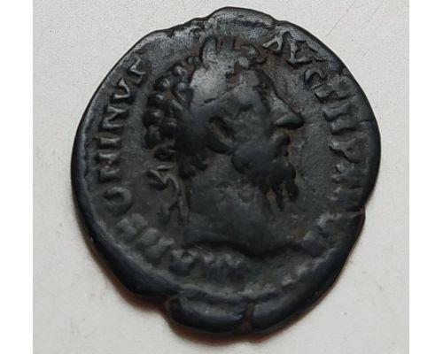 Денарий лимесный Антонин Пий Древний Рим (138 - 161 гг. н.е.) (2)