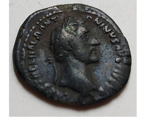Денарий лимесный Антонин Пий Древний Рим (138 - 161 гг. н.е.) (3)