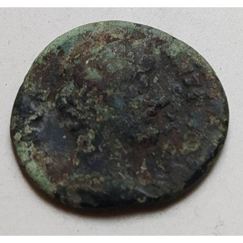 Денарий лимесный Антонин Пий Древний Рим (138 - 161 гг. н.е.) (5)